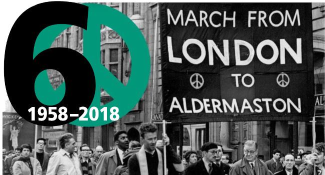Aldermaston 60th leaflet