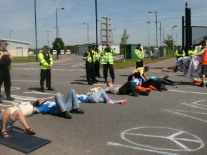 Join Yorkshire's Blockade of Burghfield