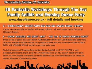 Get you dancing shoes on, It's Day of Dance!