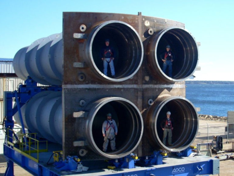 Image of Trident launch tubes
