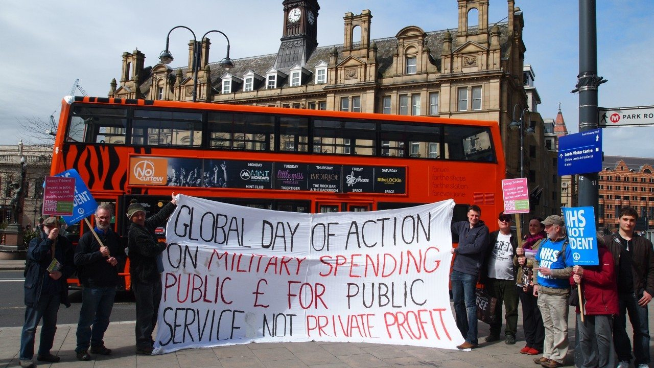 Global Day of Action on Military Spending - April 2015 - City Square