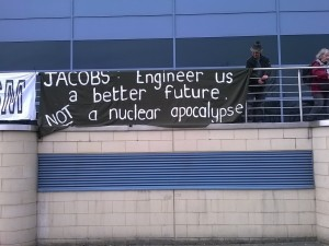 Anti-Trident activists enter Leeds firm as part of global action, to protest its involvement in nuclear weapons production