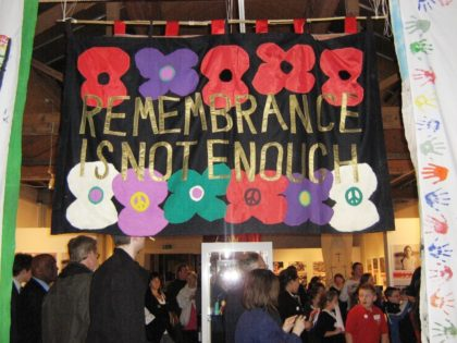 Remembrance is not enough…