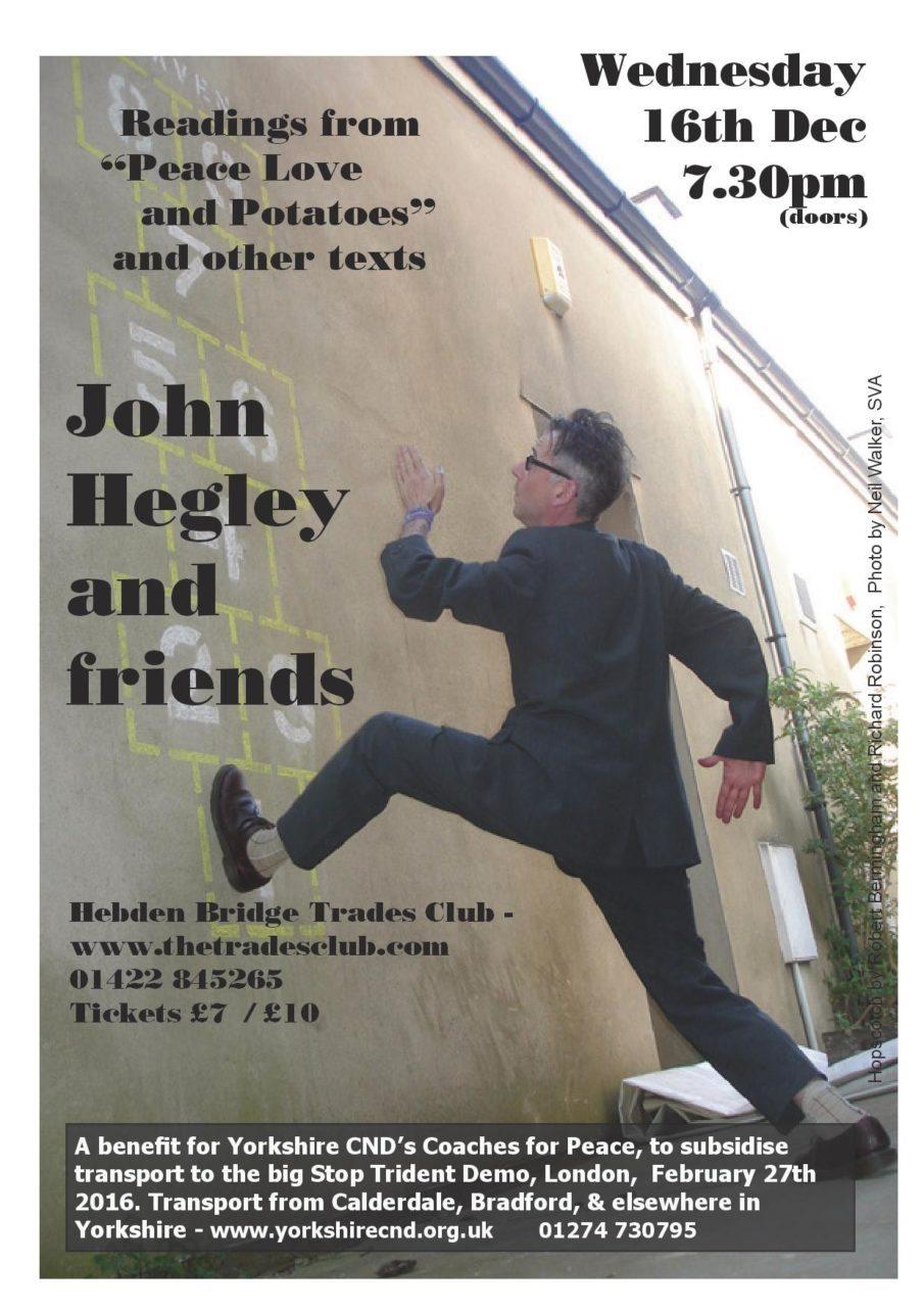 John Hegley Poster
