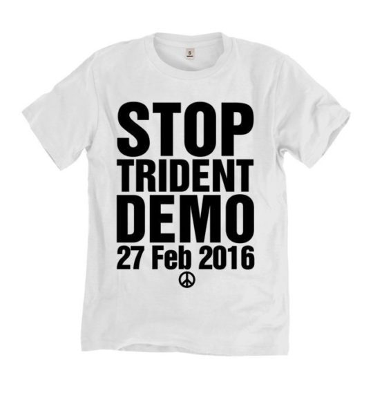 stop trident t-shirt