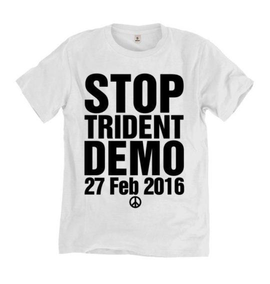 stop trident t-shirt
