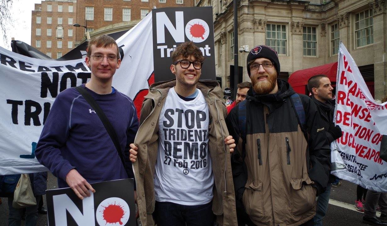 University of York CND at Stop Trident demo