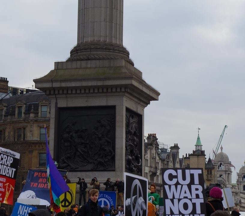University of York CND at Stop Trident demo photos