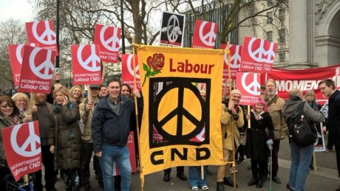 Labour CND demonstration