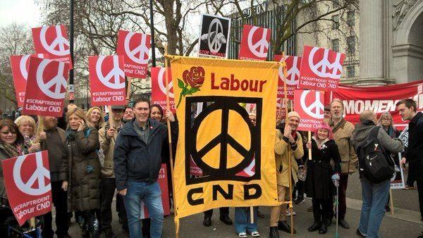 Labour CND demonstration