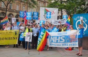 Emergency Trident Demo Leeds