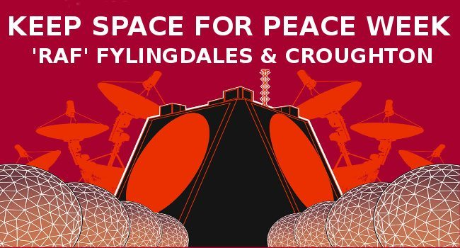 Keep space for peace flier