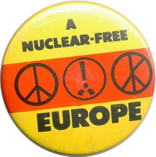 A Nuclear Free Europe Badges