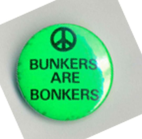 Bunkers Are Bonkers Badges