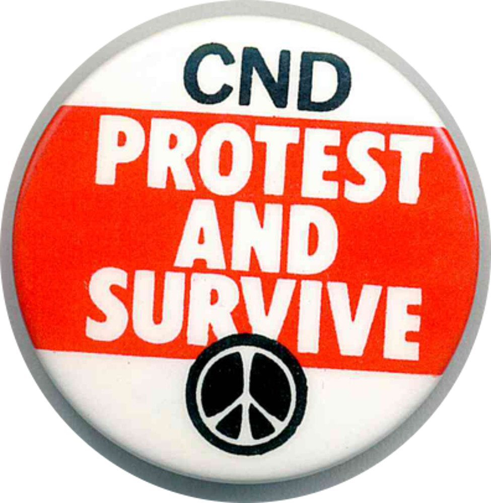 CND Protest And Survive Badges