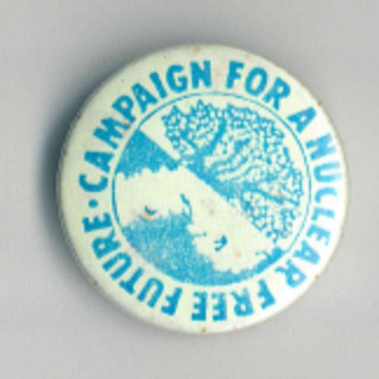 Campaign For A Nuclear Free Future Badges