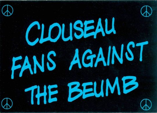 Clouseau fans against the beumb by Paul Morton