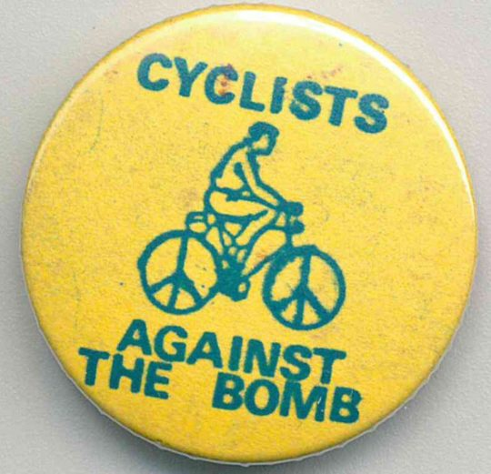 Cyclists Against The Bomb Badges