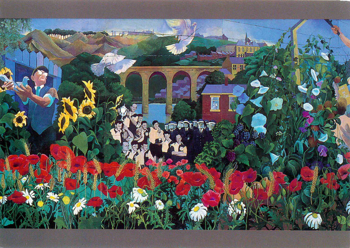 Durham Peace Mural by Barrie Ormsby