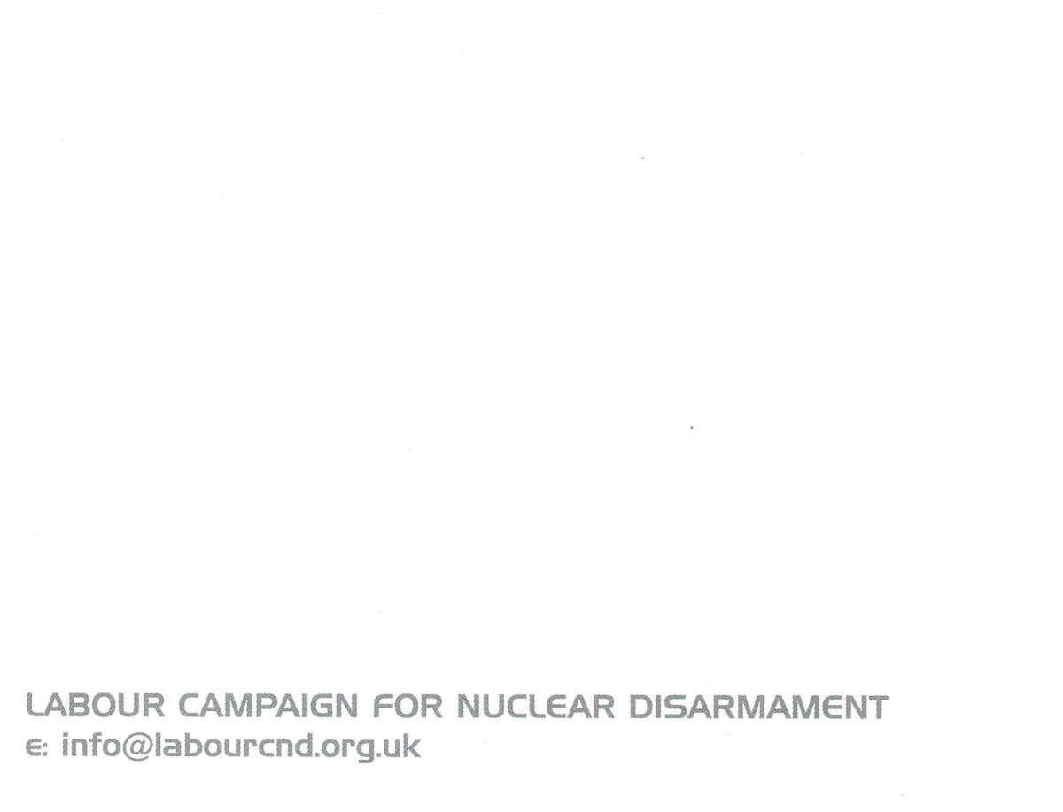 """European Socialists Against Us Missile Defence"" by Labour Campaign For Nuclear Disarmament"