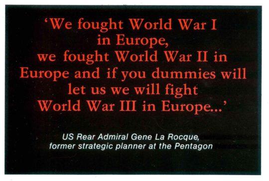 European-dummies Gene La Rocque
