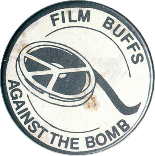 Film Buffs Against The Bomb badges