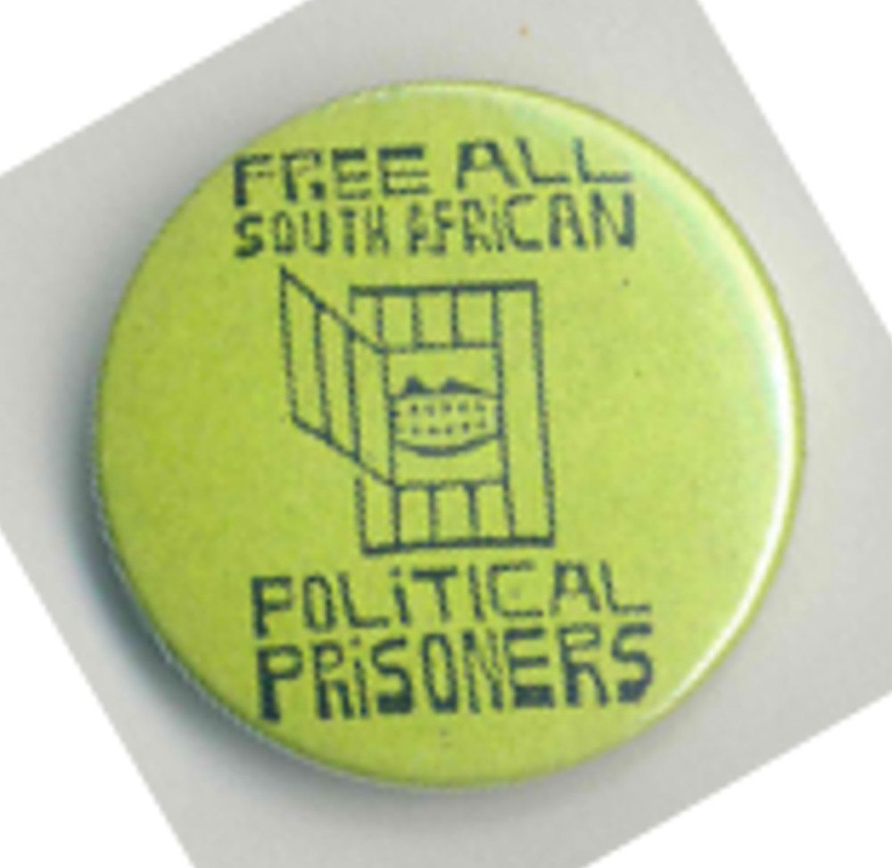 Free All South African Political Prisoners Badges