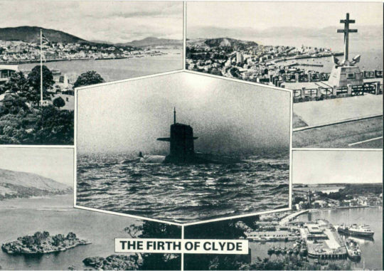 Firth of Clyde by Peter Kennard