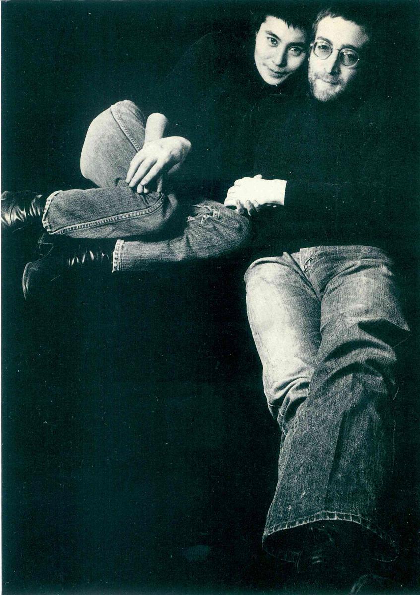 John and Yoko by Penny Tweedie