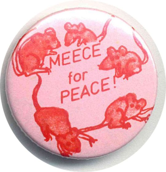 Meece For Peace Badges