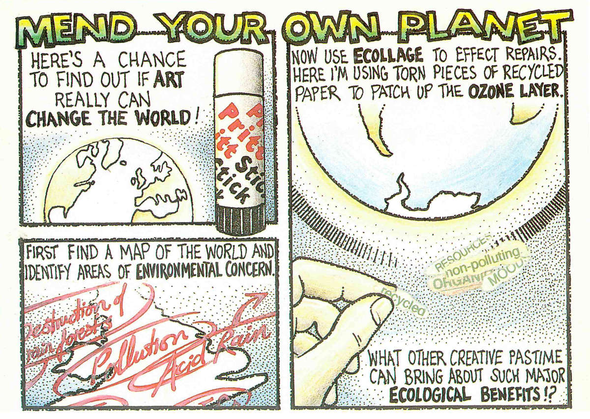 Mend Your Own Planet by Keith Bates