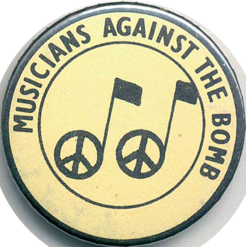 Musicians Against The Bomb Badges