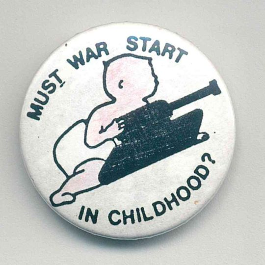 Must War Start In Childhood badges