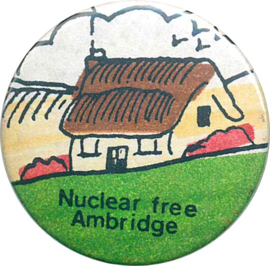 Nuclear Free Ambridge Badges