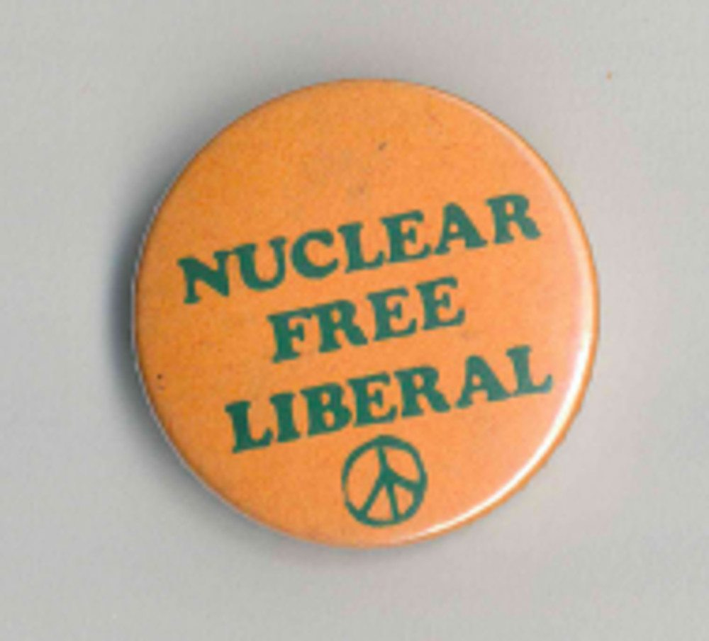 Nuclear Free Liberal Badges