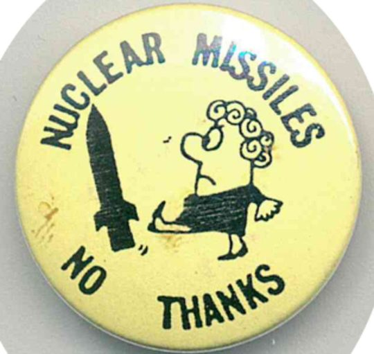 Nuclear Missiles Badges