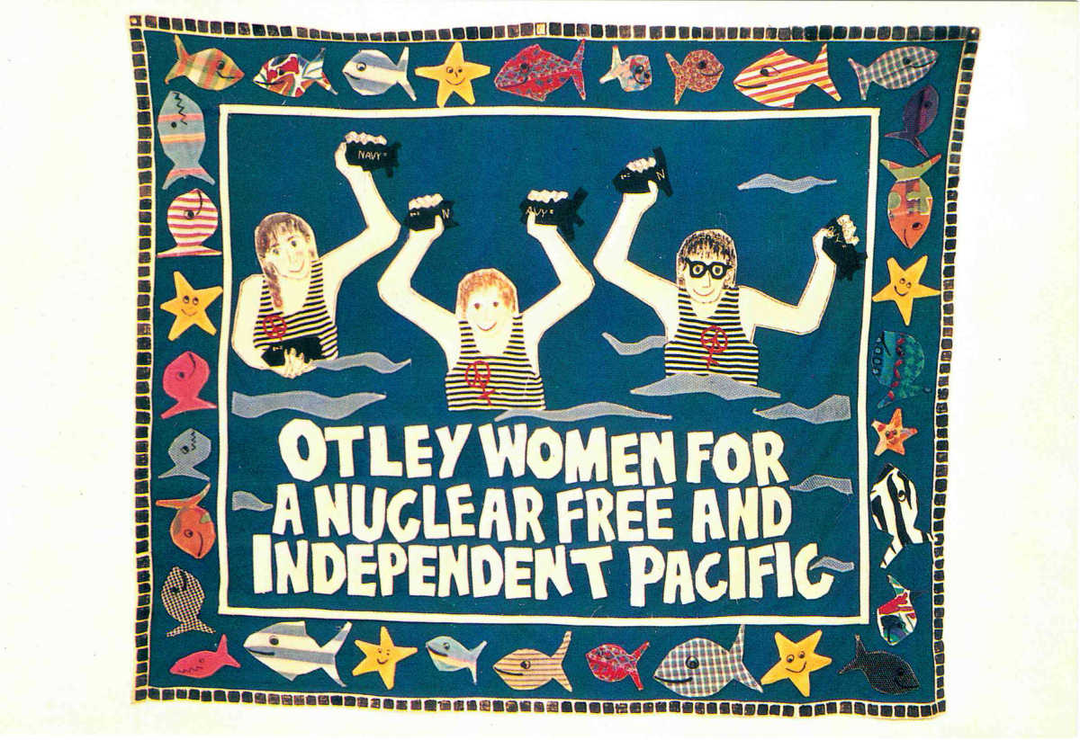 Otley Women For A Nuclear Free And Independent Pacific by Sarah Dean