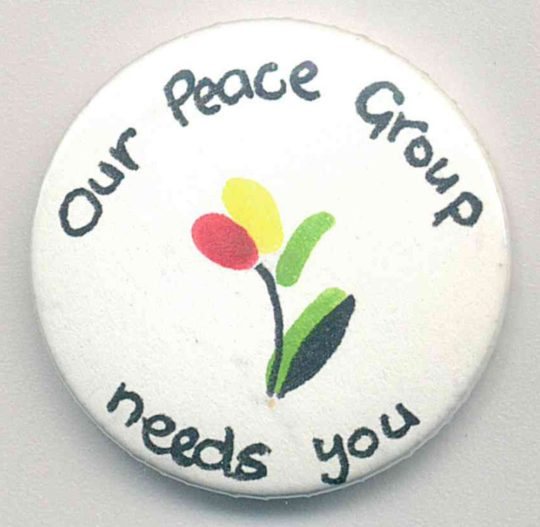 Our peace group needs you Badges