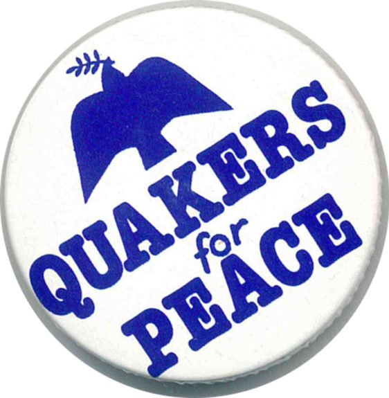 Quakers For Peace Badges