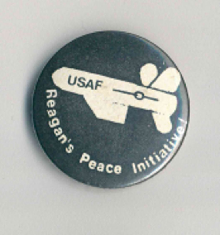 Reagans Peace Initiative Badges