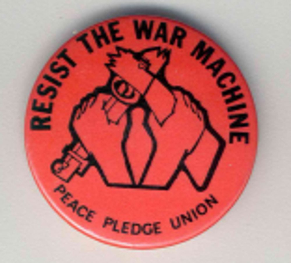 Resist The War Machine Badges
