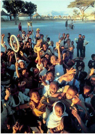 School Children In Keren postcards