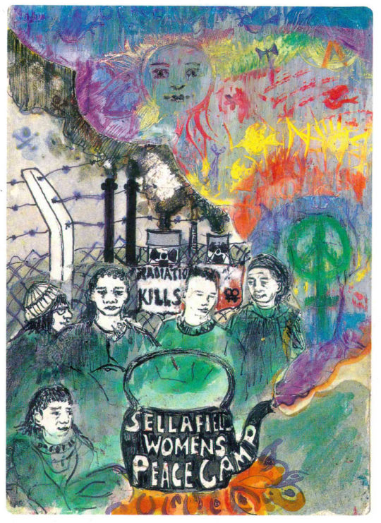 Sellafield-womens-peace-camp 1996