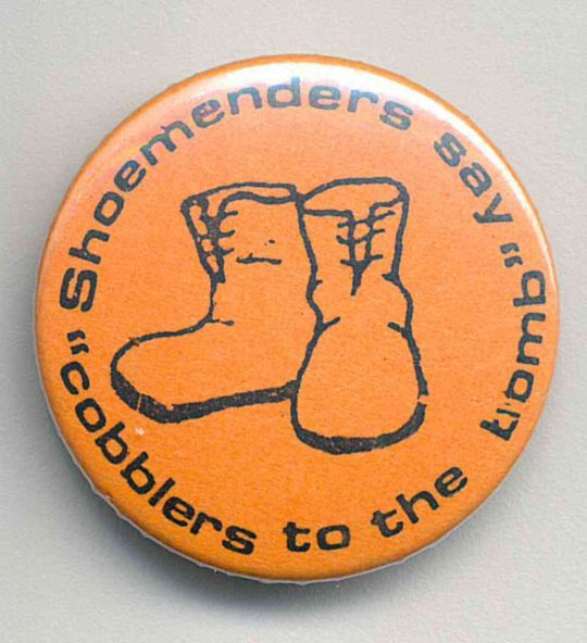 Shoe Menders Badges
