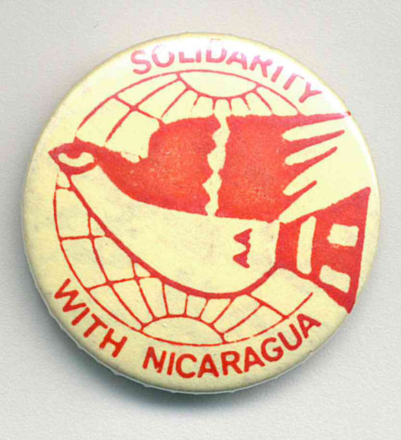 Solidarity With Nicaragua Badges