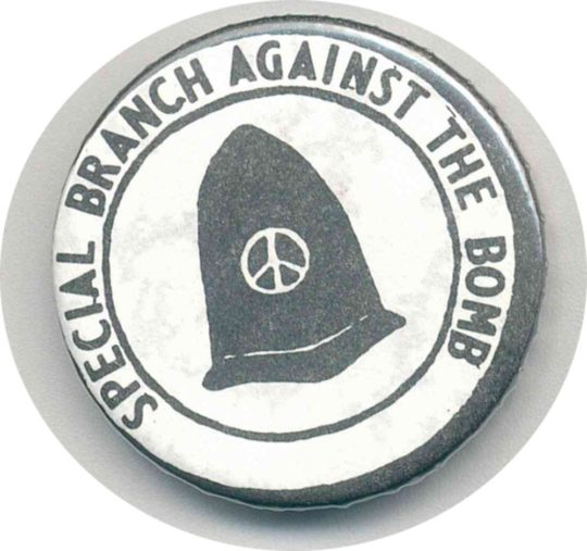 Special Branch Against The Bomb Badges
