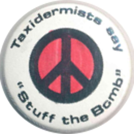 Taxidermists Say Stuff The Bomb Badges