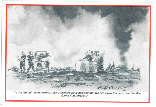 War Game by Ray Lowry