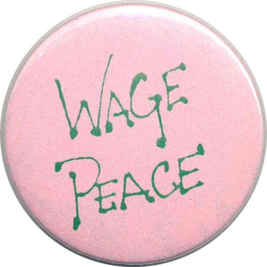 wage PEACE Badges