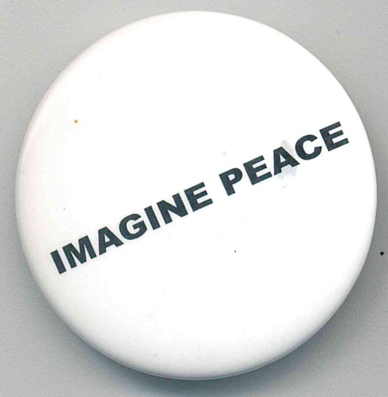 Imagine Peace Badges